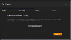 Create Media Library
