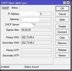 DHCP - Client