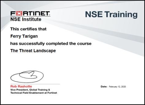 NSE Threat Landscape